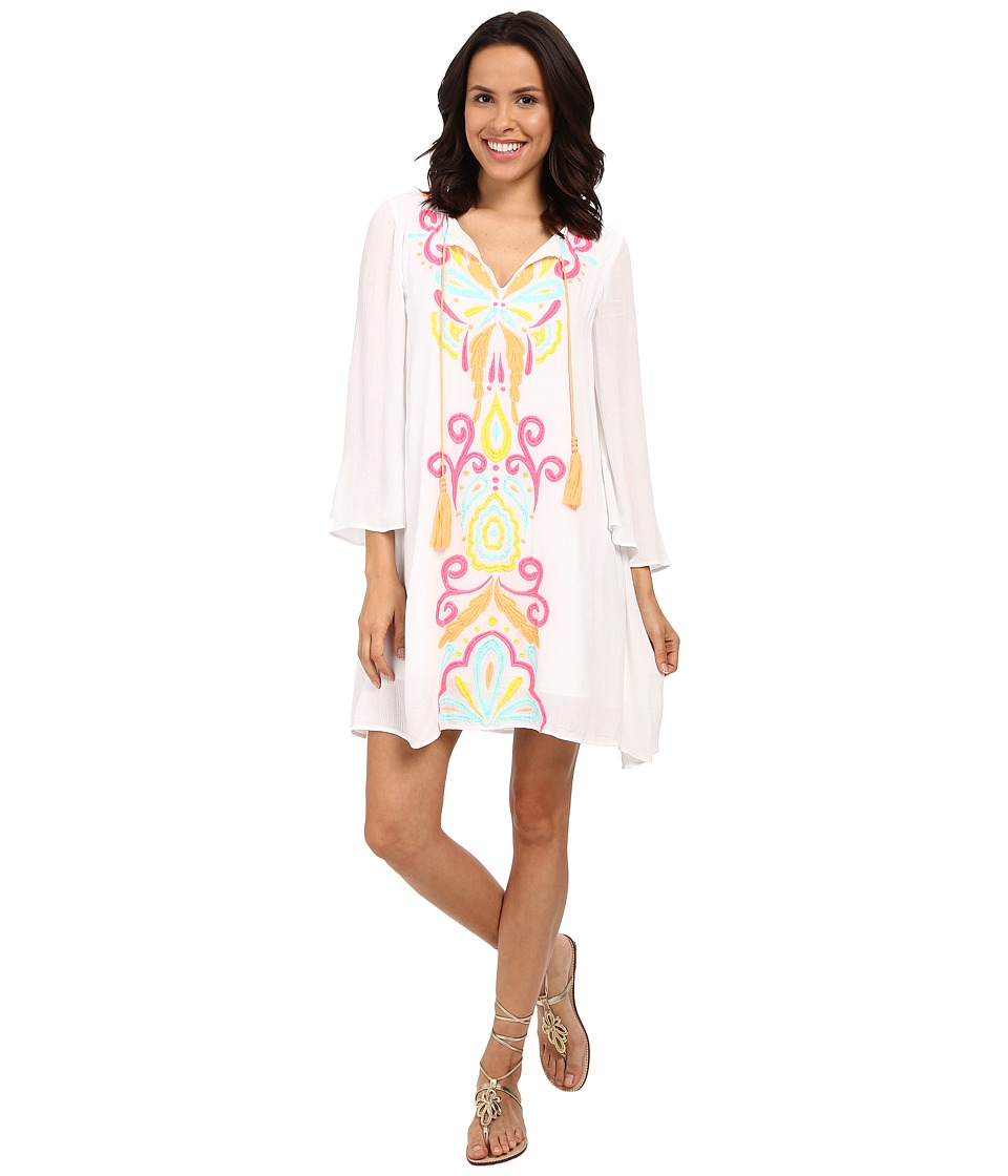 Lilly Pulitzer Ellie Tunic Dress Multi Too Much Bubbly Womens Dress