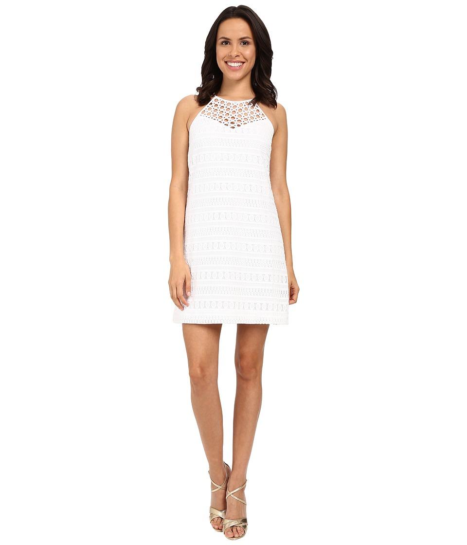 Lilly Pulitzer Larina Shift Dress Resort White Bubbly Stripe K Womens Dress