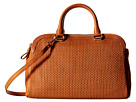 Cole Haan Leesa Weave Double Zip Satchel
