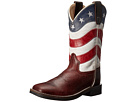 Old West Kids Boots Old West Kids Boots Square Toe w/ Shaft (Toddler/Little Kid)