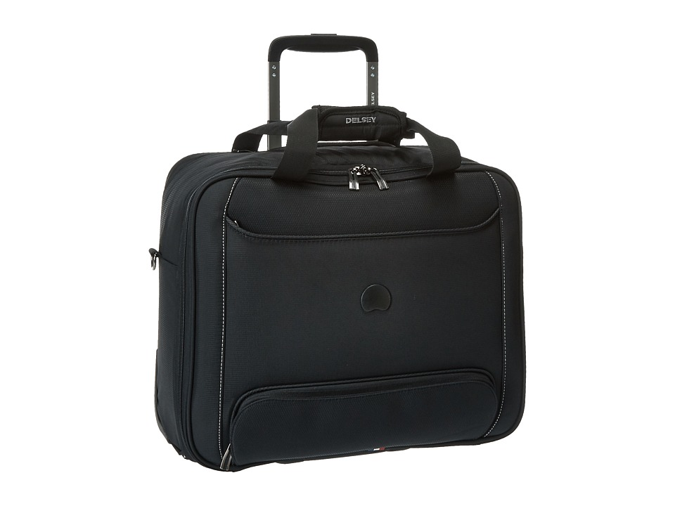 Delsey Chatillon Trolley Tote Black Luggage
