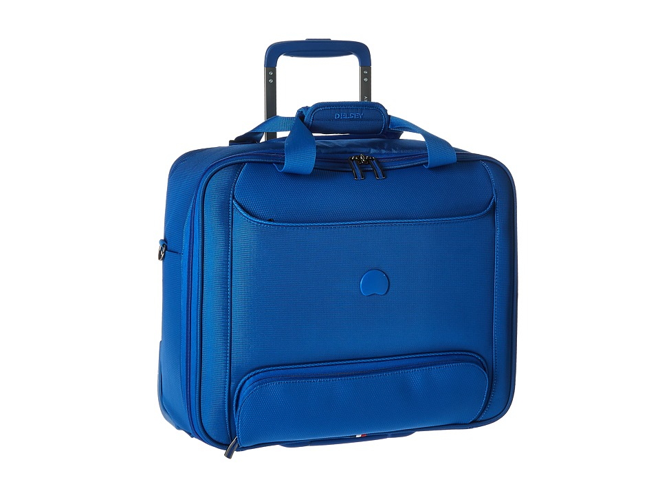 Delsey Chatillon Trolley Tote Blue Luggage