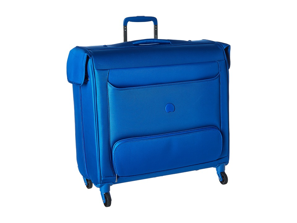 Delsey - Chatillon Spinner Trolley Garment Bag (Blue) Luggage
