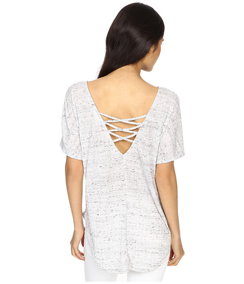 Culture Phit Arabell Short Sleeve Top with Back Detail