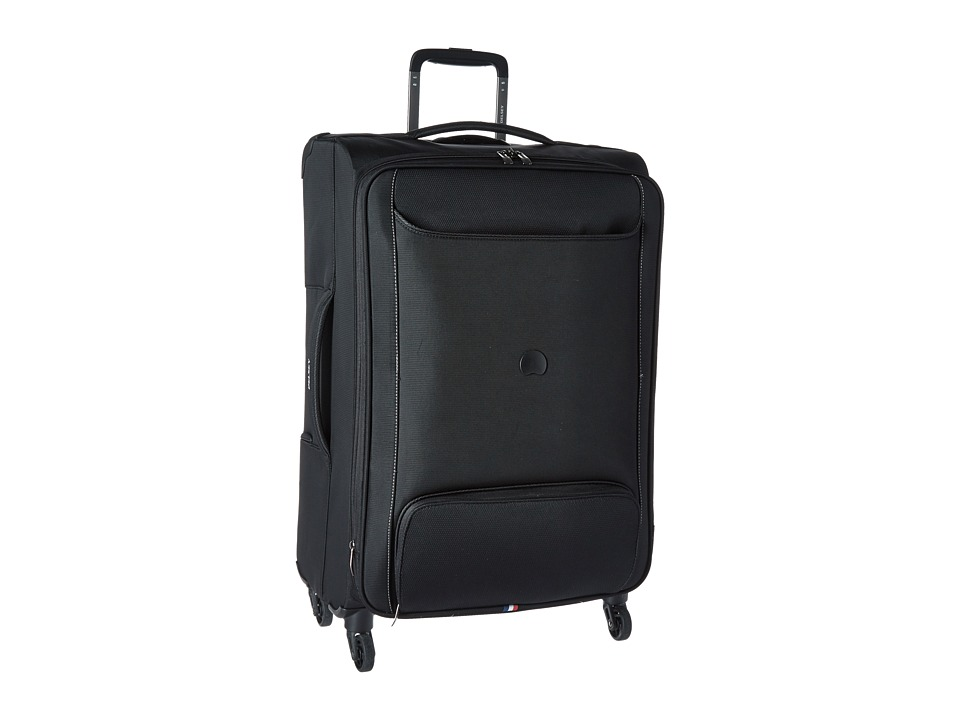 Delsey Chatillon 25 Expandable Spinner Trolley Black Luggage