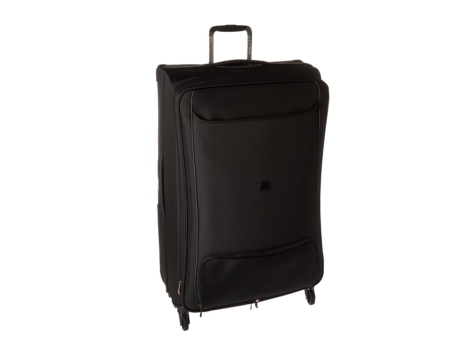 Delsey Chatillon 29 Expandable Spinner Trolley Black Luggage