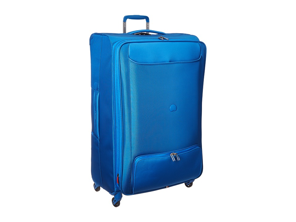 DELSEY Chatillon 29 Expandable Spinner Trolley (Blue) Lug...