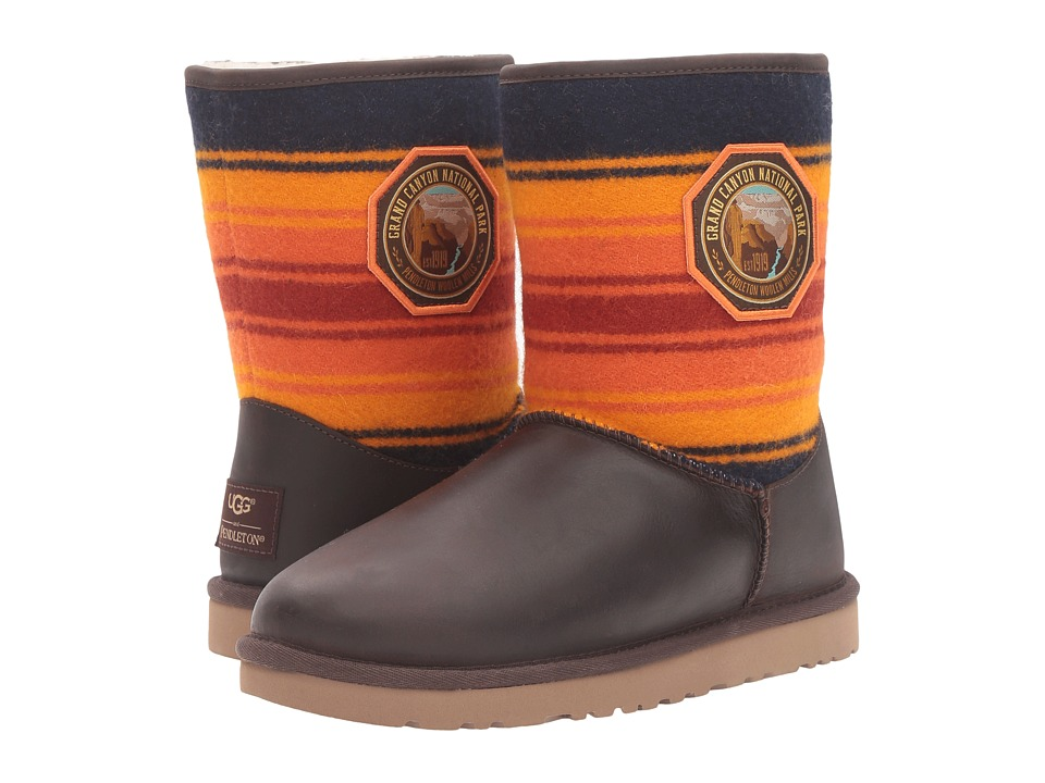 UGG - Classic Short NP Grand Canyon (Grizzly) Women