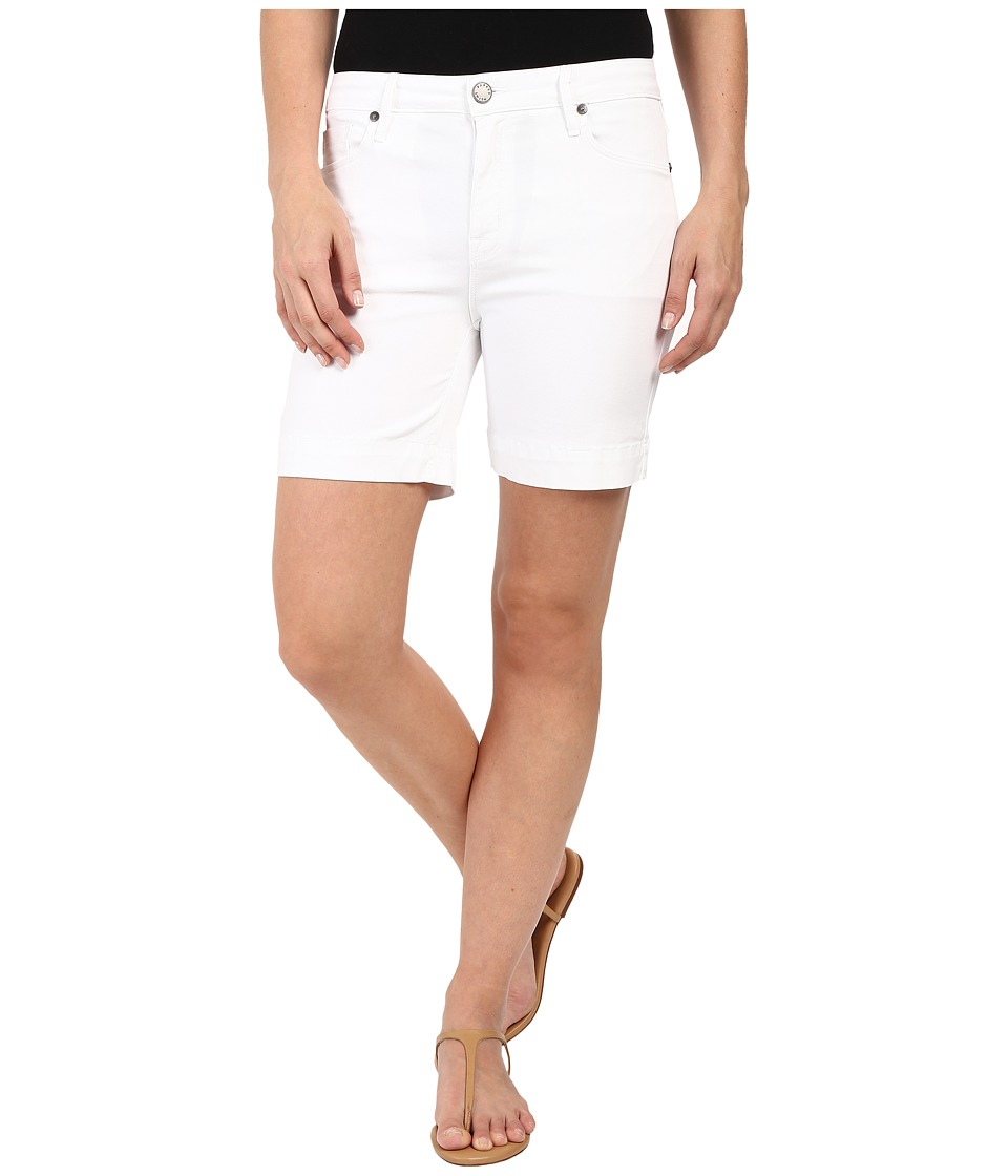 Parker Smith High Rise Shorts in White White Womens Shorts