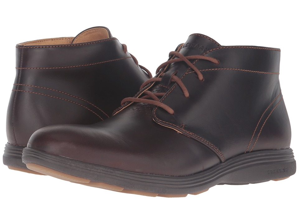 Cole Haan Grand Tour Chukka (Woodbury Leather/Java) Men