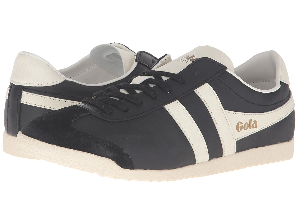 Gola Bullet Leather (Black/Off-White) Men