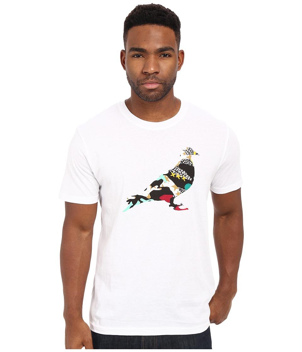 Staple Grails Pigeon Tee White Mens T Shirt