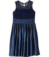 Ella Moss Girl - Mariam Sleeveless Crochet Dress (Big Kids)