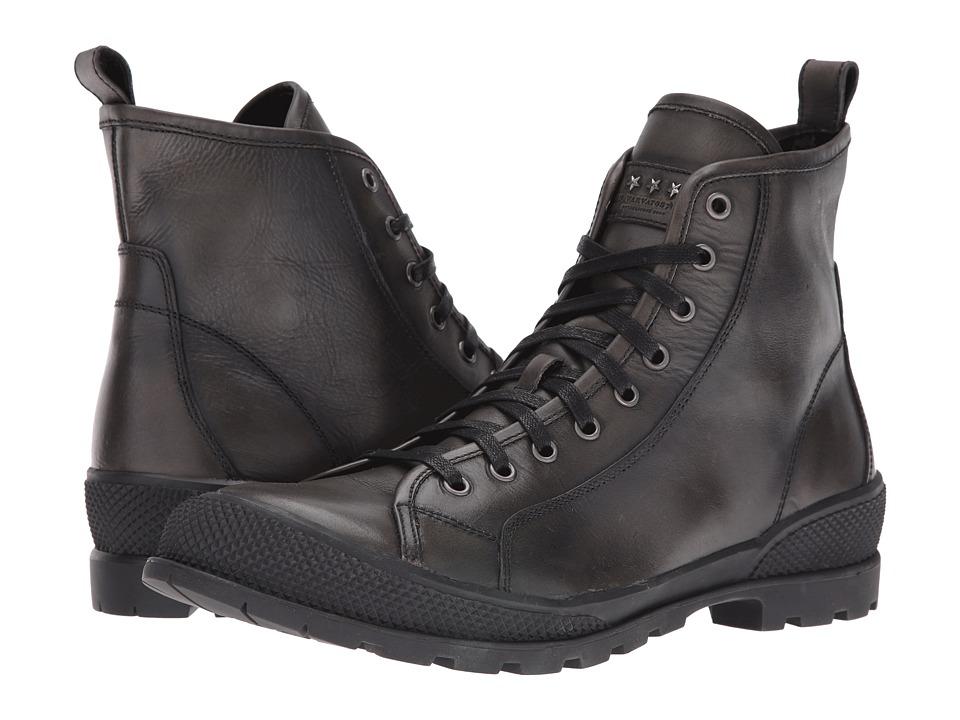 John Varvatos Heyward Lace Boot (Charcoal) Men