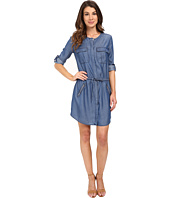 KUT from the Kloth - Aubrey Roll Tab Chambray Dress