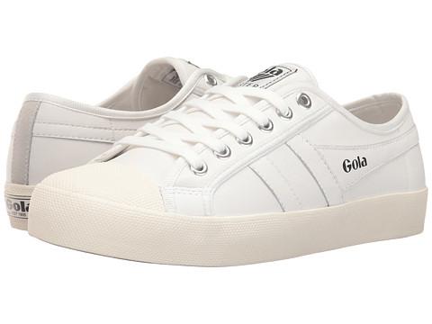 Gola Coaster Leather - White/Off-White