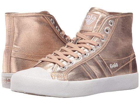 Gola Coaster High Metallic - Rose Gold/Rose Gold