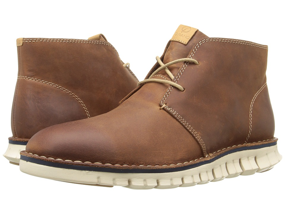 Cole Haan Zerogrand Stitchout Chukka (Woodbury Waxy) Men