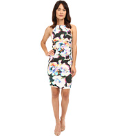 Nicole Miller - Alix Layered Floral Linen Dress