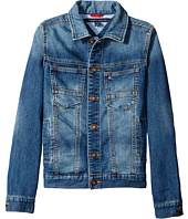 Tommy Hilfiger Kids - Dylan Knit Denim Jacket (Big Kids)
