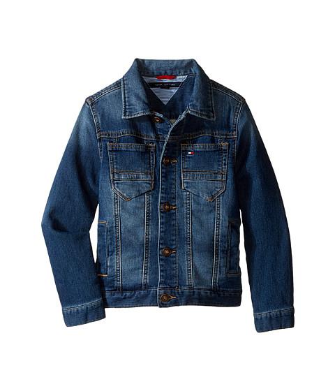 Tommy Hilfiger Kids Dylan Knit Denim Jacket (Toddler/Little Kids)