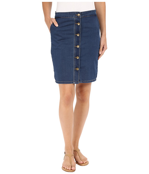 kut from the kloth kristen button up front skirt in muse w