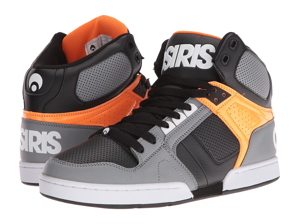 Osiris NYC83 (Grey/Orange) Men