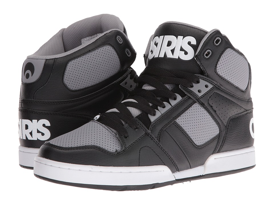 Osiris NYC83 (Black/Grey) Men