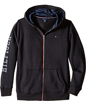 Tommy Hilfiger Kids - Long Sleeve Hilfiger Hoodie (Big Kids)