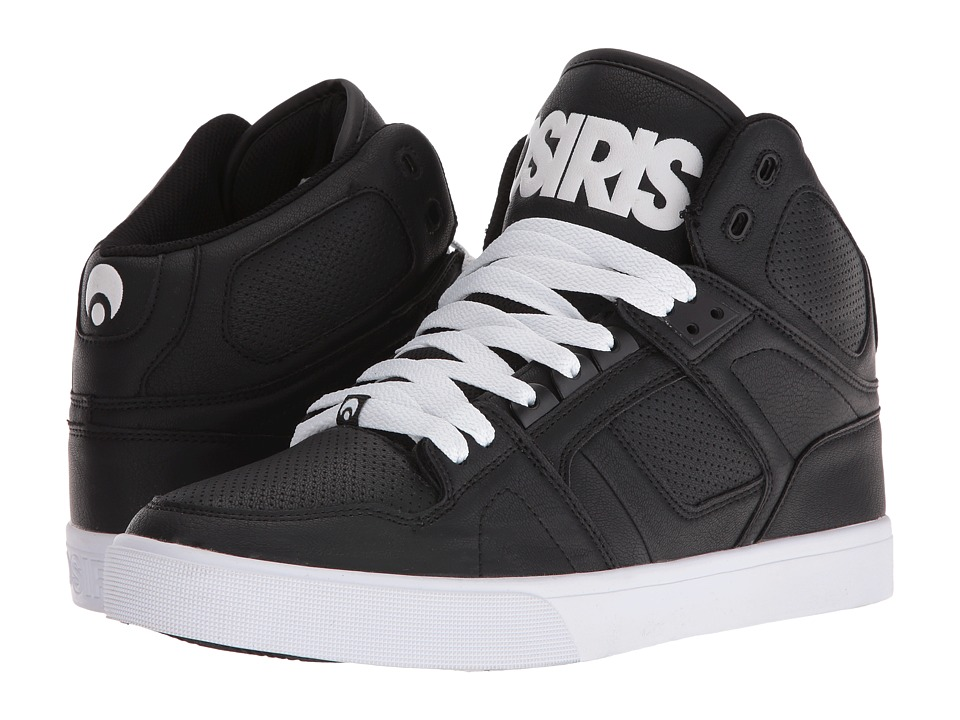 Osiris NYC83 VLC (Black/White/White) Men