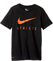 Nike Kids - Athlete Swoosh Training T-Shirt (Little Kids/Big Kids)