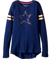 Tommy Hilfiger Kids - Long Sleeve Graphic Tee (Big Kids)