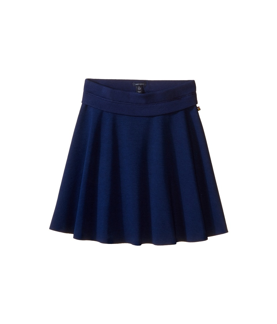 Tommy Hilfiger Kids - Ponte Skirt (Big Kids) (Medium Navy) Girls Skirt