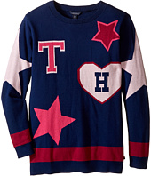 Tommy Hilfiger Kids - Stars and Hearts Tunic Sweater (Big Kids)