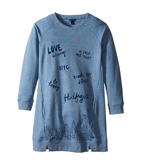 Tommy Hilfiger Kids Sweatshirt Dress (Big Kids)