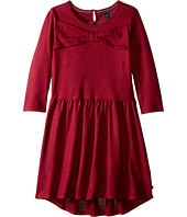 Tommy Hilfiger Kids - Bow Front Tiered Dress (Big Kids)