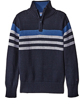 Tommy Hilfiger Kids - Peter 1/2 Zip Sweater (Big Kids)