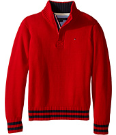 Tommy Hilfiger Kids - Robert Marled 1/2 Zip Sweater (Toddler/Little Kids)