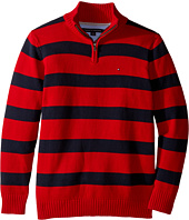 Tommy Hilfiger Kids - George Stripe Sweater (Big Kids)