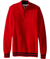 Tommy Hilfiger Kids - Robert Marled 1/2 Zip Sweater (Big Kids)