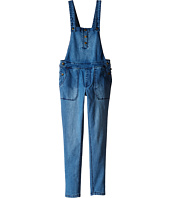 Tommy Hilfiger Kids - Denim Overall in Medium Wash (Little Kids/Big Kids)