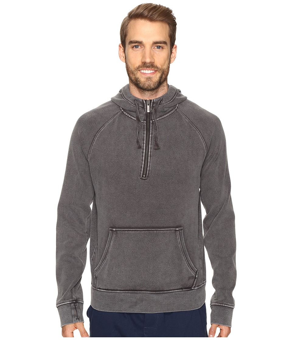 UGG Cooper Washed Pullover Hoodie (Black) Men