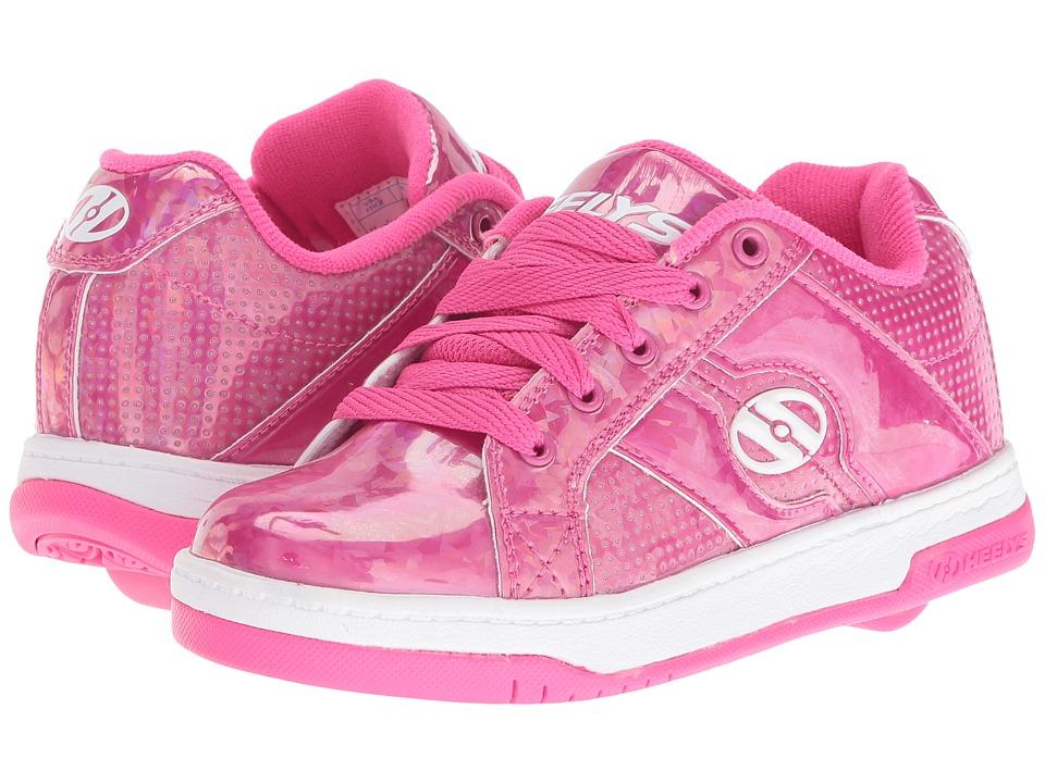 Heelys - Split (Little Kid/Big Kid/Adult) (Pink/Hologram) Girls Shoes