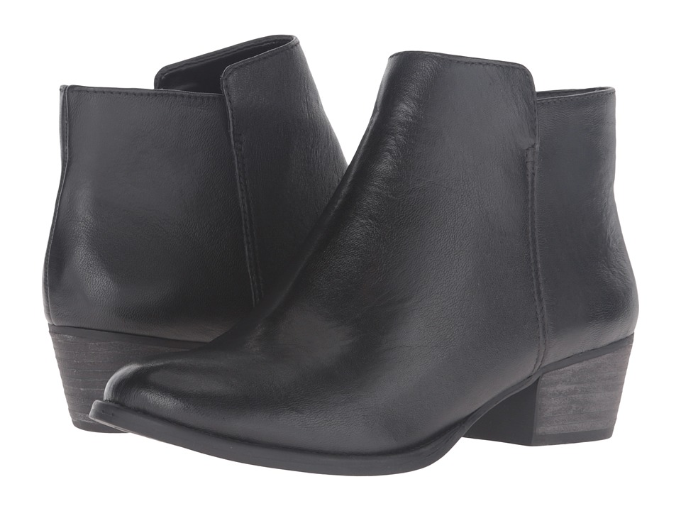 Jessica Simpson Delaine (Black Leather) Women