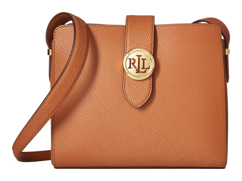 LAUREN Ralph Lauren - Charleston Crossbody (Lauren Tan) Cross Body Handbags