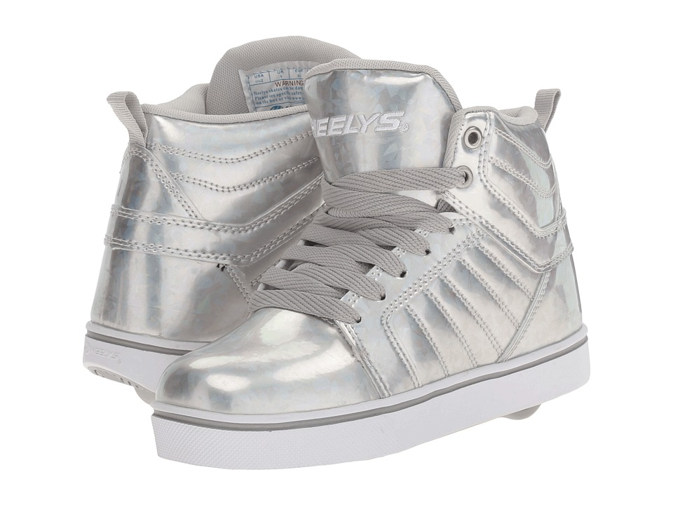 Heelys - Uptown (Little Kid/Big Kid/Adult) (Silver/Hologram) Girls Shoes