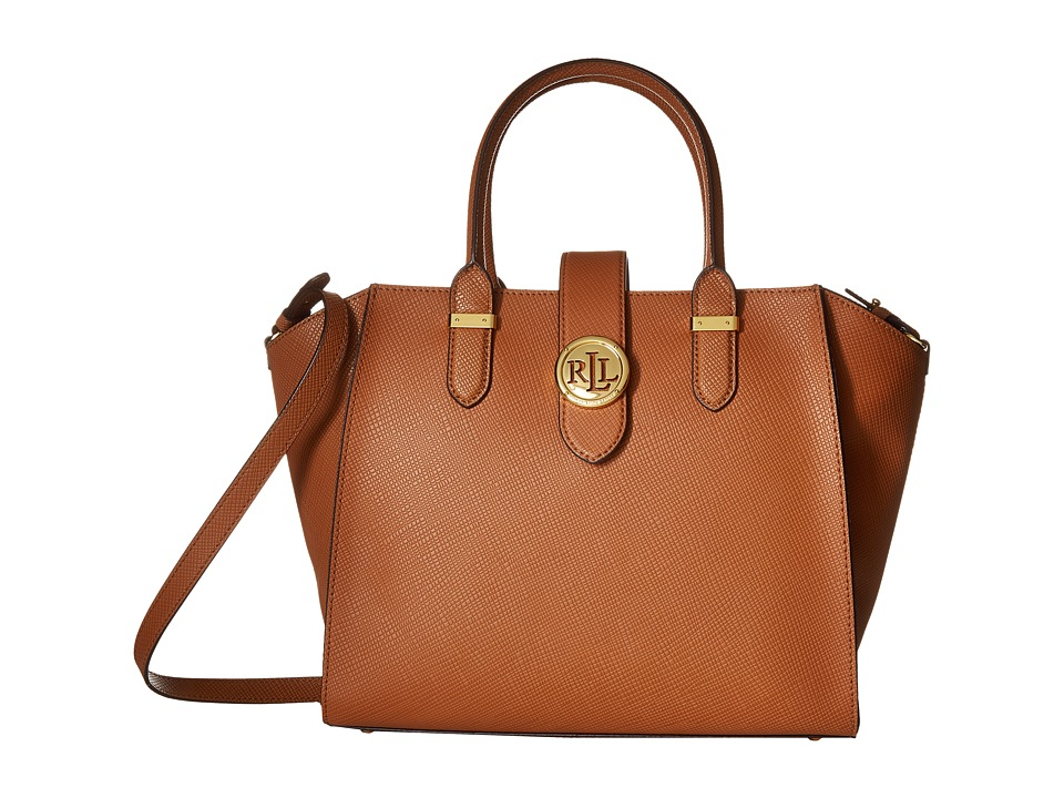 LAUREN Ralph Lauren - Charleston Shopper (Lauren Tan) Handbags