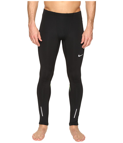Nike Dri-FIT™ Thermal Tights - Black/Volt/Reflective Silver