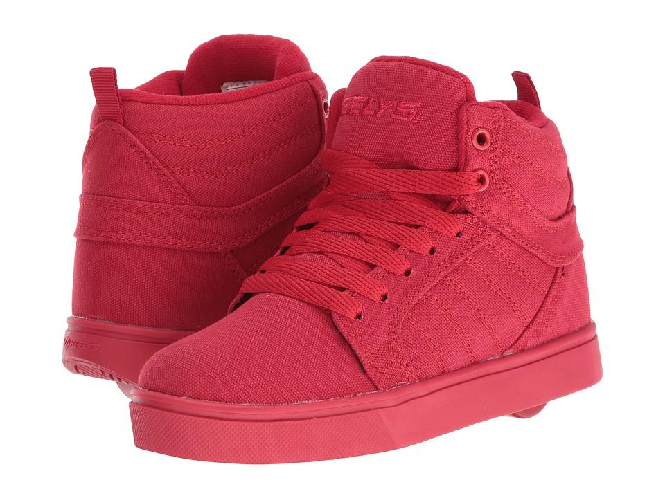Heelys - Uptown (Little Kid/Big Kid/Adult) (Red Solid) Boys Shoes