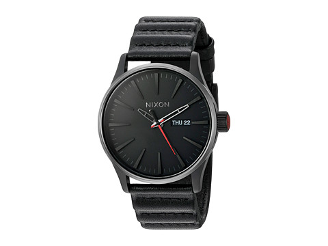 Nixon Sentry Leather - Star Wars Collection - Kylo Black